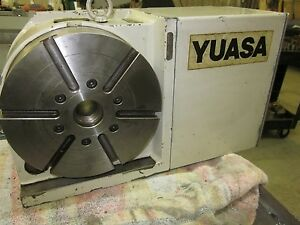Yuasa Fadal Rft220 Rotary Table 4th Axis