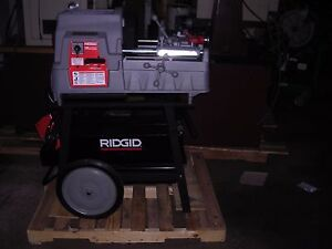 Ridgid 535a Auto Chucking Pipe Threader 1822 811a Die Head Thread 4 6 W 141 161