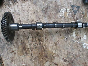 1370 Case Diesel Farm Tractor Cam Shaft A58591 W Drive Gear Free Ship