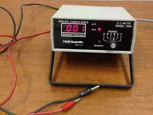 Vwr Scientific Model 1054 Specific Conductance Meter