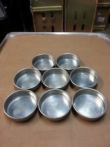 Aluminum Deep Dish Pizza Baking Pans 7 x 2 Set Of 8