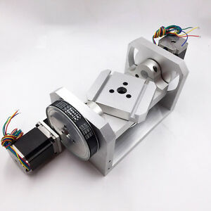 Mini Cnc Engraving Rotary Table Axis 4th Axis 5th Axis 6 1 8 1 Cnc Dividing Head
