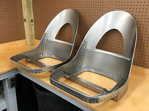 Jaguar E Type Xke 3 8 Ots Roadster Seat Frames New Absolutely Perfect