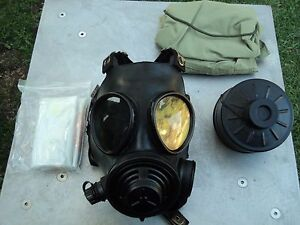 Evolution 5000 Nbc Gas Mask W multigas Filter Hood Size Small W drink Option