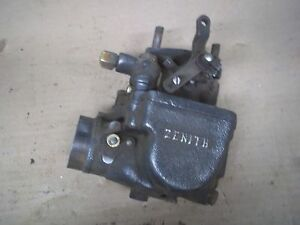 Vintage Zenith Dx Updraft Carburetor Tractor Ford Massey Ferguson Rat Rod Truck