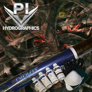 Hydrographic Kit Hydro Dipping Water Transfer Hydro Dip Inkstag Green Camo Rc503