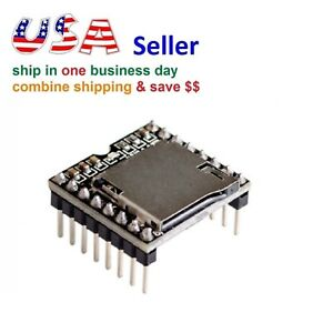 Mini Mp3 Player Module U disk Tf Sd With Simplified Output Speaker For Arduino