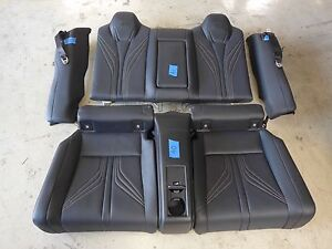 2015 Lexus Rc f Coupe F sport Oem Rear Leather Seats Assembly