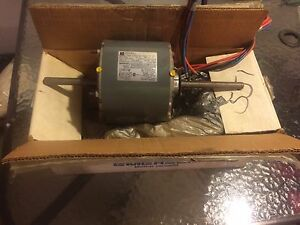 Emerson Single Phase 1 3 Hp Ka55hxsfy 8558 Volt 230 Hz 60 Rpm 1075 3spd Motor