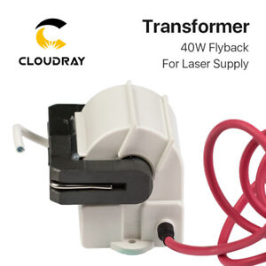 High Voltage Flyback Transformer For Psu 40w Co2 Laser Power Supply Model A