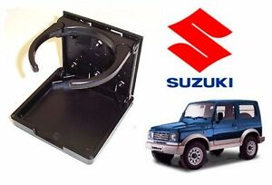 Black Folding Universal Fit Cup Drink Holder Suzuki Samurai Sidekick X 90