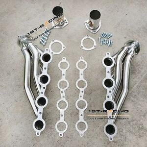 Universal Stainless Shorty Engine Swap Header For Chevrolet Ls1 Ls6 Lsx Ls2 1st
