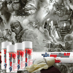 Hydro Dipping Water Transfer Printing Hydrographic Dip Kit Team Apocalypse Dd747
