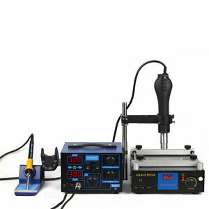 862d 853a Bga Rework Station Hot Air Gun Soldering Iron Preheating Station
