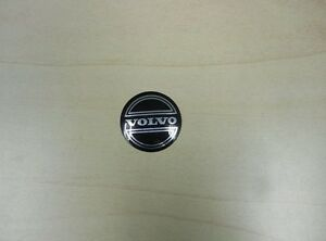 Personal Steering Wheel Horn Button Black With Silver Volvo Logo Made In Italy