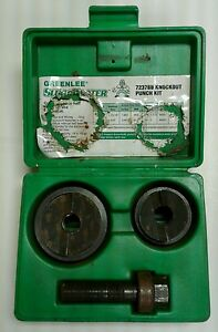 greenlee Slug Buster 7237bb Knockout Punch Kit