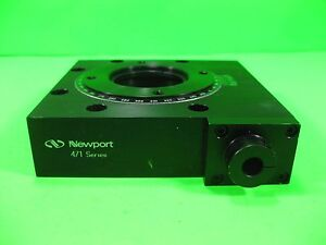 Newport Rotation Stage No Micrometer Model 471 Used
