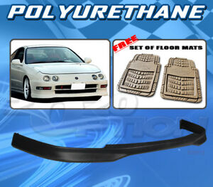 For Acura Integra 94 97 Jdm R Style Front Bumper Lip Polyurethane Floor Mats