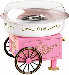 Mini Cotton Candy Maker Hard Candy Floss Sugar Machine Nostalgia Electrics