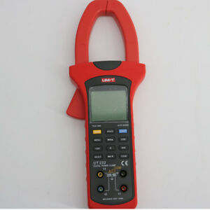 Uni t Ut233 Three Phase Power Clamp Meter True Rms With Usb