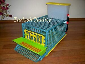 Quail Cage The Patented Design First In The World Professional Quail Egg Cage