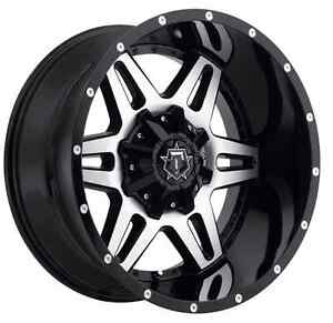 Tis 538mb 7900512 Single 17x9 Gloss Black W Mirror Machined Face 538mb Wheel