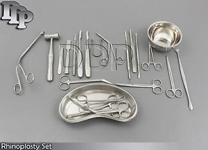 Rhinoplasty Set Surgical Instruments ds 1029