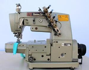 Union Special 34700 3 needle 4 thread Coverstitch Industrial Sewing Machine 220v