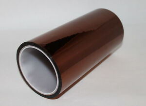 200mm X 33m 100ft Kapton Tape High Temperature Heat Resistant Polyimide Us Ship