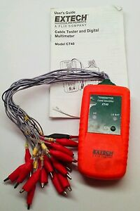 Used Extech Ct40 Cable Identifier Transmitter I 793