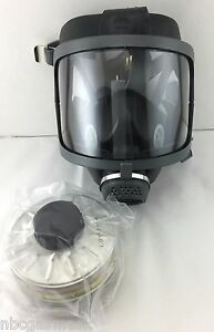 Scott sea Domestic Preparedness Fp Gas Mask With Filter Voice Amp