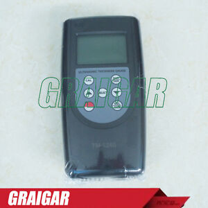 Tm1240 Digital Ultrasonic Thickness Gauge Meter 0 75 400mm Test Metal non metal