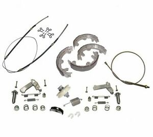 1967 82 Corvette Emergency Parking Brake Deluxe Kit Stainless Steel