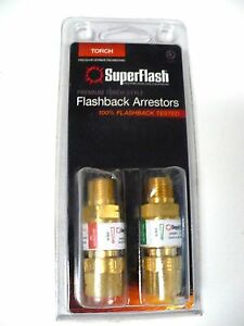 New Superflash Flashback Arrestors torch Gg Made In Germany free Shipping