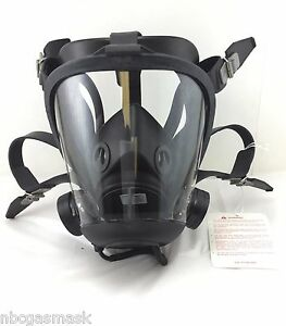 Survivair Opti fit Cbrn Gas Mask Respirator W drinking System medium 769020
