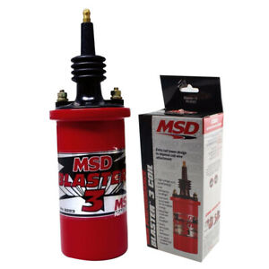 Msd Blaster 3 High Performance Coil 45000 Volts Max With 90 Terminal Msd822