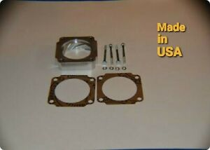 swirl Throttle Body Spacer 2011 2018 Ford F150 2011 2017 Mustang Gt Boss 5 0l