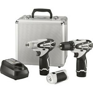 3 Pc 12v Max Lithium ion Cordless Combo Kit With Impact Wrench Mkt lct309w New