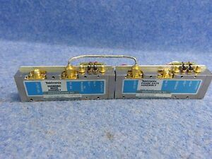 Tektronix 119 1640 02 Harmonic Mixer Assembly W 119 1010 02 Phase Gate Assembly