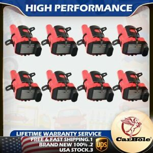 D585 Ignition Coils High Output 8 Pack For Chevy Gmc 5 3 6 0 4 8l V8 C1251 Uf262