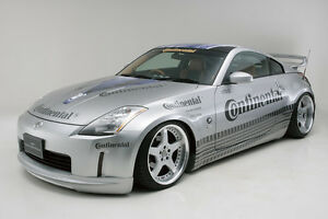 Wald Body Kit For 02 09 Nissan 350z 4 Piece Made In Japan Very Rare Z33