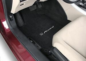 Honda Accord Sedan 4pc Flint Shale Carpet Floor Mats W Choice Of Logo 2013 2017