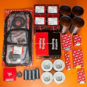 Federal Mogul Engine Rebuild Kit Fits Isuzu 4be1 Nkr Npr Without Valve Recess