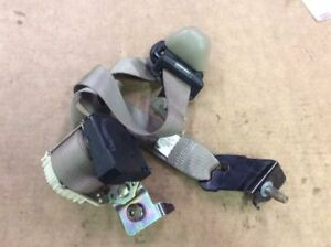 05 06 07 08 Ford F150 Extended Super Cab Rear Left Seat Belt Assembly Tan