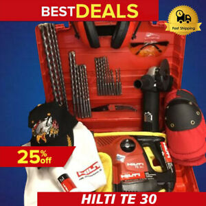 Hilti Te 30 Preowned Free Angle Grinder Bits Extras Fast Ship