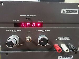 Lambda Lq 531 Dc Power Supply Being Sold For Repair or Parts