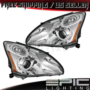 Hid W o Afs hid Kit Headlights For 2004 2006 Lexus Rx330 Japan Left Right Pair