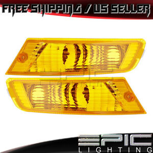 2005 2007 Jeep Liberty Parking Marker Signal Lights Left Right Sides Pair