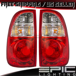 Access Regular Cab Tail Lights For 2005 2006 Toyota Tundra Left Right Pair
