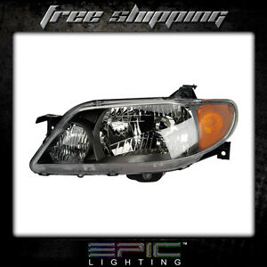Fits 2001 03 Mazda Protege Headlight Headlamp Left Driver Only